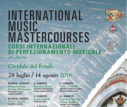 L'Orchestra Marzuttini ai Masterclass di Cividale