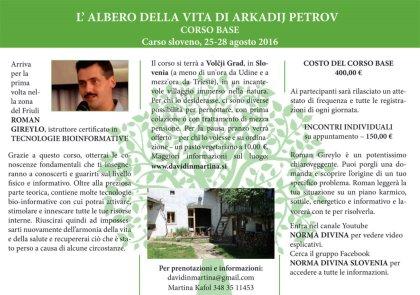 L'ALBERO DELLA VITA DI ARKADIJ PETROV