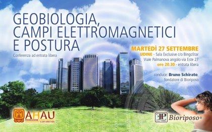GEOBIOLOGIA E INQUINAMENTO ELETTROMAGNETICO - Conferenza ad entrata libera sul tema