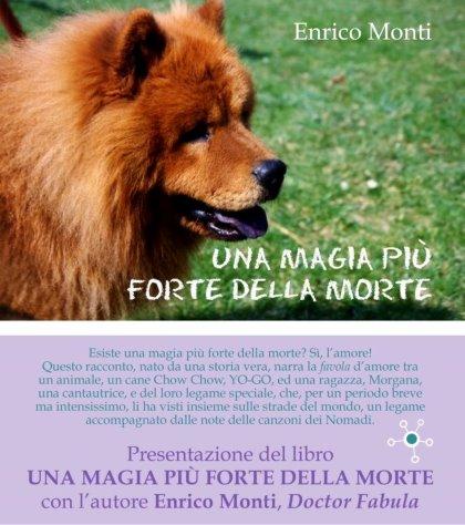 Presentazione del libro UNA MAGIA PIÙ FORTE DELLA MORTE