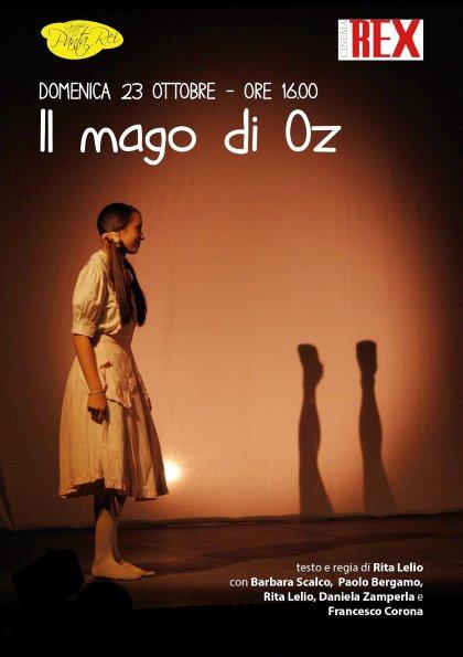 Domenica 23 ottobre, IL MAGO DI OZ al Cinema Teatro Rex di Padova