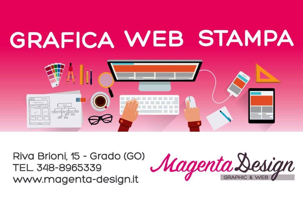 Studio creativo per la pubblicità www.magenta-design.it