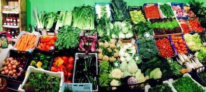 Frutta e verdura fresche e di stagione dei ns contadini e olio, miele,confetture, vino, formaggi, sottoli, tutto a Km0!