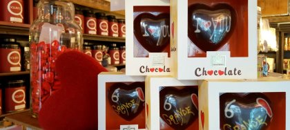 Squisito è pronto per rendere speciale il vostro S. Valentino con amore, cioccolato e un pizzico di peperoncino