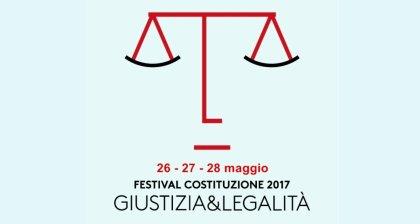 FESTIVAL COSTITUZIONE 2017  26 -27 - 28 MAGGIO