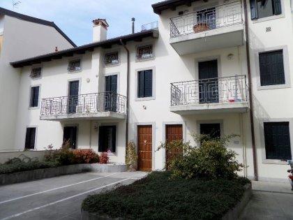 Bicamere + studio a Udine, interni Via Poscolle