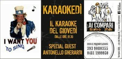 Karaokedì- Il Karaoke del Giovedì- Libera il cantante che c'è in te!!