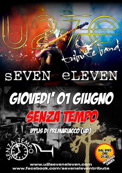 U2 SHOW - Seven Eleven Tribute Band