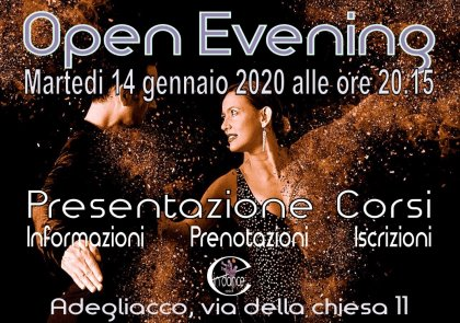 OPEN EVENING DANZE LATINO-AMERICANE