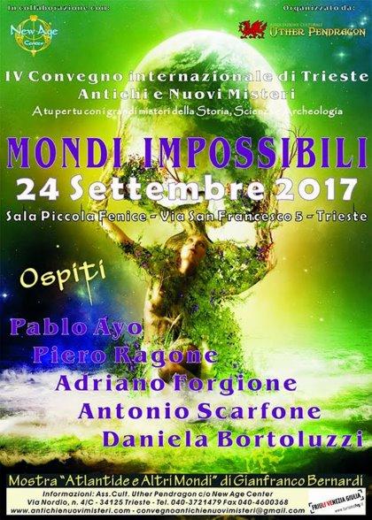 MONDI IMPOSSIBILI - IV CONVEGNO INTERNAZIONALE DI TRIESTE