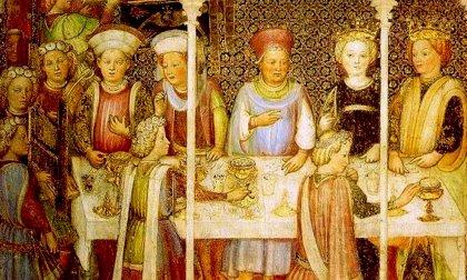 """""""A CENA CON RE ROTARI """" la cena longobarda a ingresso gratuito per scoprire i sapori dell'Alto Medioevo"""