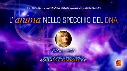 AVIGAIL MOR IN ITALIA: L'ANIMA NELLO SPECCHIO DEL DNA