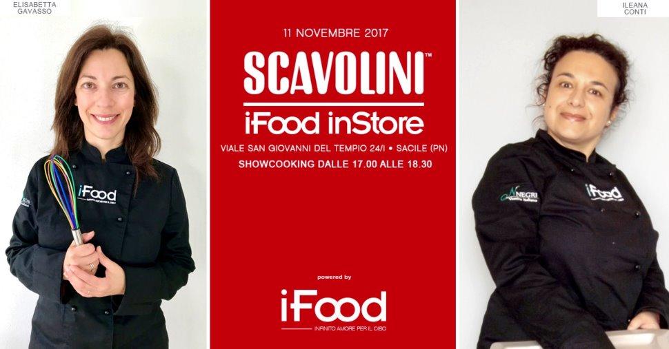 Show-cooking allo Scavolini Store Sacile con le blogger di iFood Elisabetta Gavasso e Ileana Conti