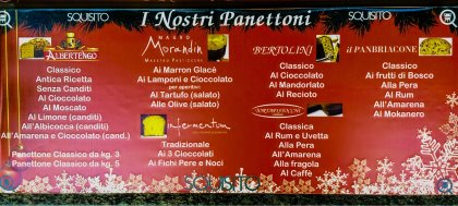 Per Natale, da Squisito, trovi panettoni, torroni e cioccolato rigorosamente artigianali e di altissima qualità
