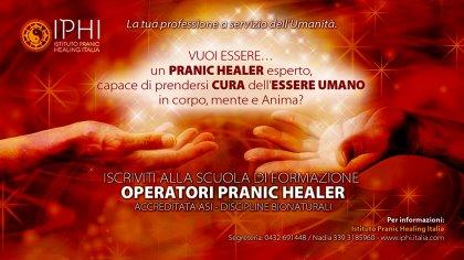 Scuola di formazione per operatori di PRANIC HEALING (accreditata ASI)