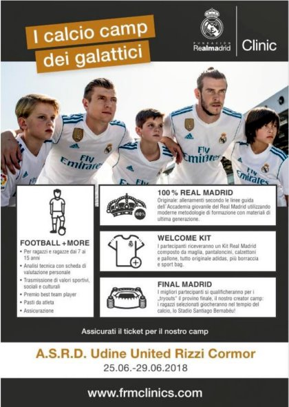Camp Real Madrid Clinics 2018