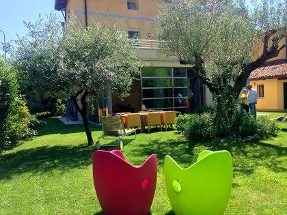 Villa liberty a Udine, semicentrale