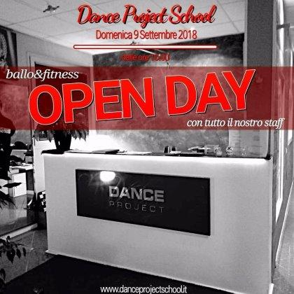 DANCE PROJECT SCHOOL - OPEN DAY DOMENICA 9 SETT 2018 - PROVE CORSI DAL 17 SETT 2018