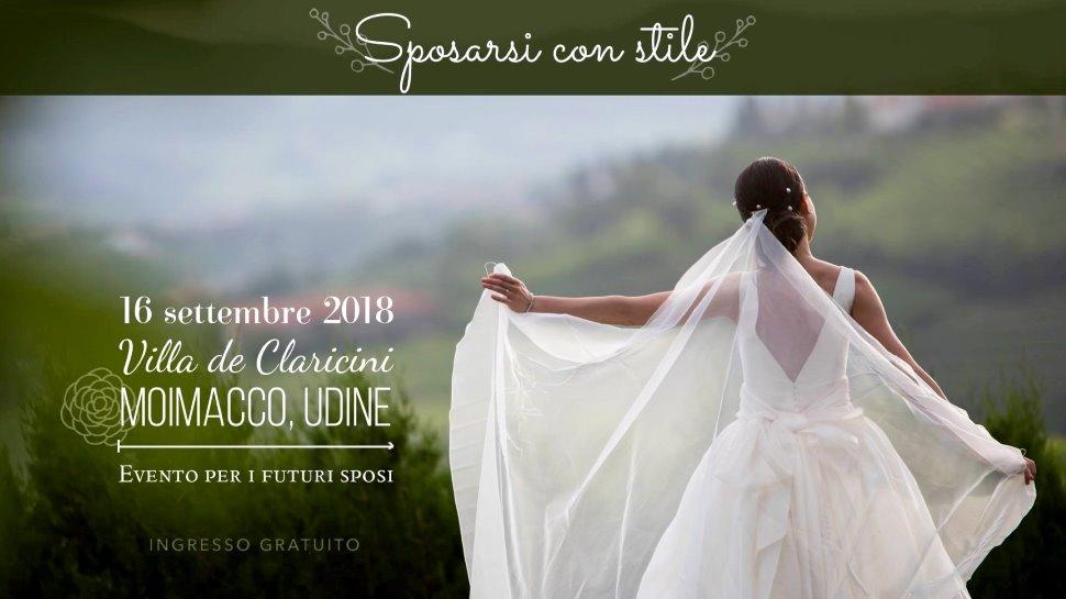 SPOSARSI CON STILE - 16 SETTEMBRE A VILLA DE CLARICINI