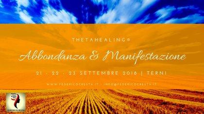 CORSO DI THETAHEALING® - ABBONDANZA E MANIFESTAZIONE