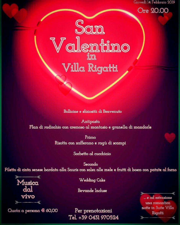 San Valentino in Villa Rigatti
