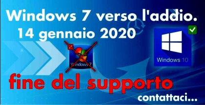 Addio Windows 7, il 14 gennaio Microsoft saluta lo storico sistema operativo